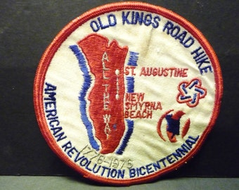 Final clearance ~ 1976 Fabric Patch ~ Old Kings Road Hike ~  N. Florida