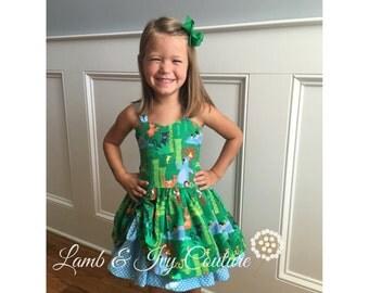 Jungle Book Peek a boo Dress with free shipping