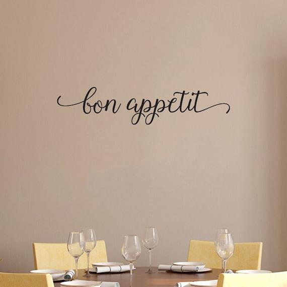 Items Similar To Kitchen Sign Bon Appetit Home Decor