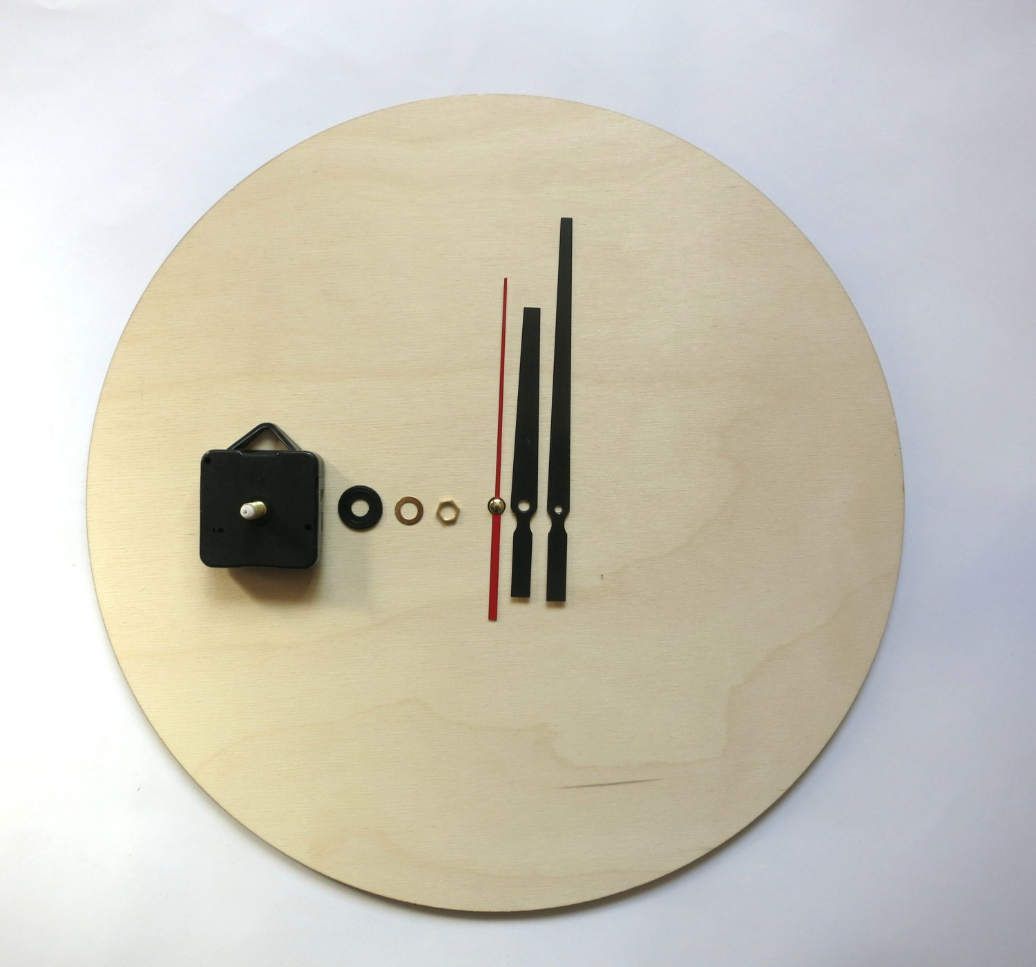 Clock kit DIY Wall clock kit 16 40cm diy clock wood