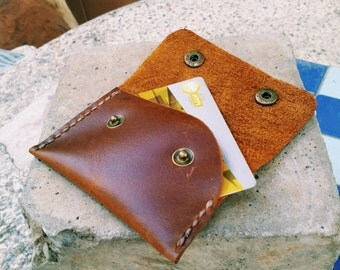 Leather Card Case, Business Card Holder, Leather Wallet,Card Wallet,Business Card Case, Cash Wallet,Money Wallet, Custom Card Holder, Wallet