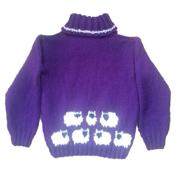 Sheep Knitting A Sweater : Sheep sweater knitting pattern double