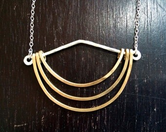 Hanging Crescents Pendant