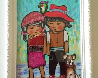 Pirates wmisical kid art - Children's Wall Art