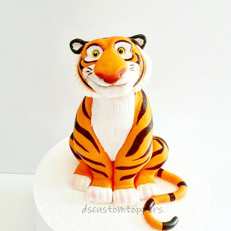 Fondant Tiger Cake