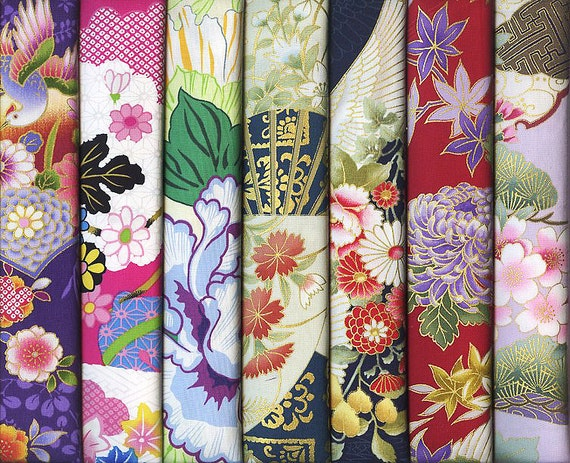 Asian Fat Quarters 73