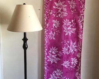 Batik wall hanging Beautiful flowers / Beautiful House warming gift / Home Decor.