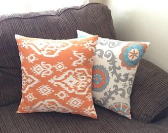 Couch Pillow Set  - Throw Pillow Set - Decorative Sofa Pillows