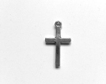 Tibetan Silver Cross charms