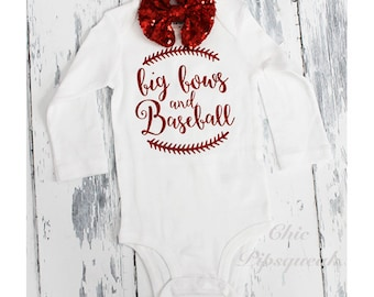 Items Similar To Baby Baseball Outfit Bow Tie And