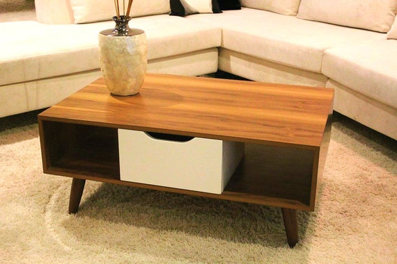 Coffee Table Sofa Table Scandinavian Design Custom Made