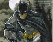 The Batman, sketch
