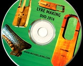 Lyre Making DVD-ROM   2016 edition (With Extra plans)