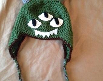 Three Eyed Monster Hat