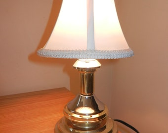 Homemade Lamp,Small Night Light,Shelf Light,Desk Lamp,One of a Kind