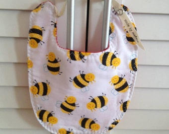 Reversible Bib | Busy Bees