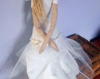 Tilda Angel doll handmade