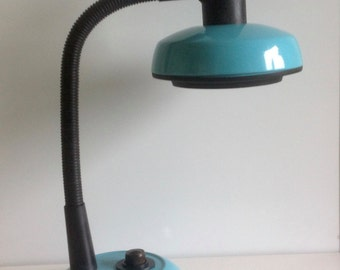 Desk lamp / retro lamp / table lamp / blue lamp