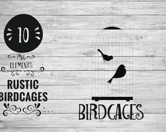 Rustic Birdcages