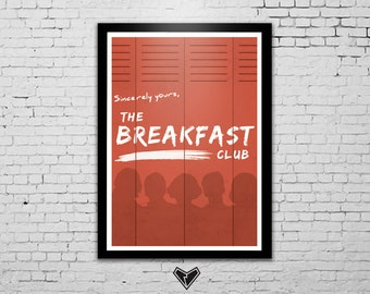 The Breakfast Club Movie Poster A3