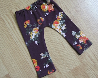 Pretty Floral Leggings - American Girl Doll Clothes