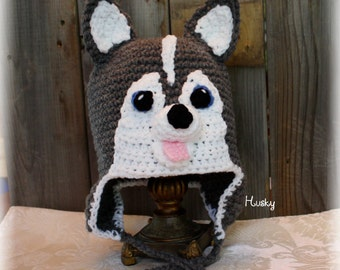 "Dog hat ""Siberian Husky"""
