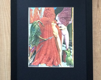 Mounted and Framed The Robing of the Bride by Max Ernst - 12''x 16' - wall art