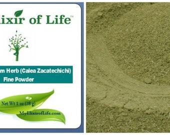 1 oz. Mexican Dream Herb (Calea Zacatechichi) Very finely powdered
