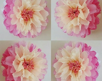 one tissue paper hanging 14inch wedding party babyshower bedroom wall flowers party decorations