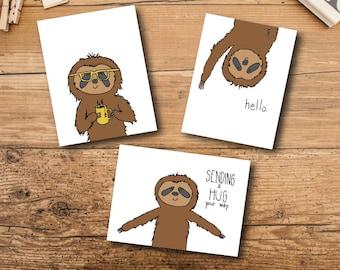 Blank Card Set - Sloth Card Set