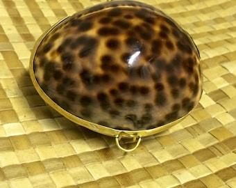 Tiger Cowry Coin Purse