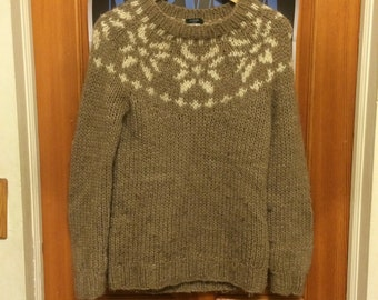 Winter Snowflake Sweater