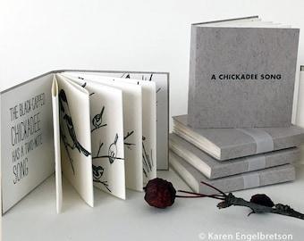 A Chickadee Song, Tiny Letterpress Book
