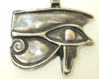 Solid Eye of Ra Pendant (JC-942)