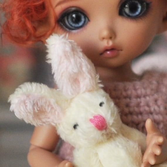 lovely bunny miniature for bjd dolls lati yellow pukifee. Black Bedroom Furniture Sets. Home Design Ideas