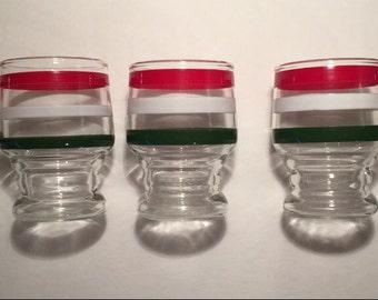 Stackable Juice Glasses