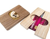VALENTINES DAY GIFT - Wooden Magnetic Wallet