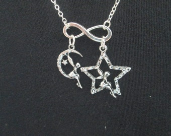 Infinity Fairy Necklace