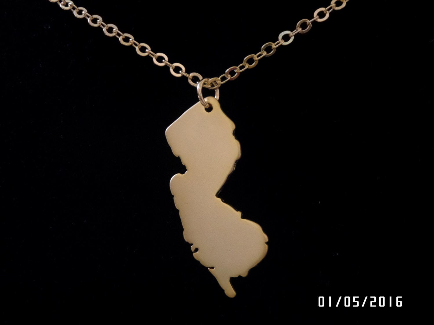 i new jersey state pendant new jersey state necklace