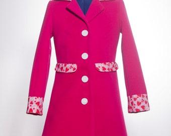 Strawberry Pink Coat