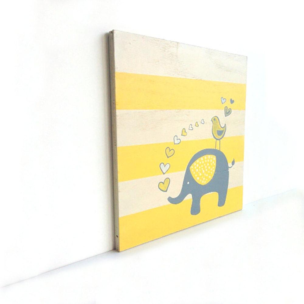 Beautiful Elephant Wall Art For Nursery Elaboration - Art & Wall ...