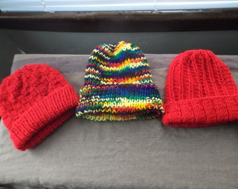 Easy, Fun, Knitted Skull Cap/Slouchy hat
