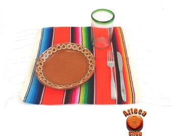 Mexican Carpeta Sarape Placemat