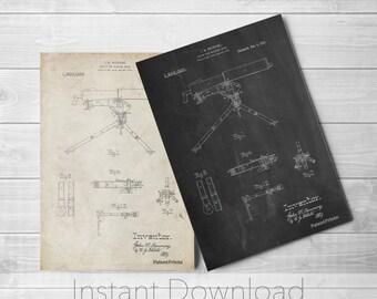 Machine Gun Printables, Mount for Machine Gun, World War 1, Army Poster, Gun Enthusiast, Gun Lover, Artillery, Firearm, PP0964