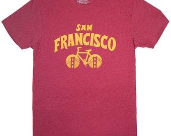 San Francisco Bicycle T-shirt