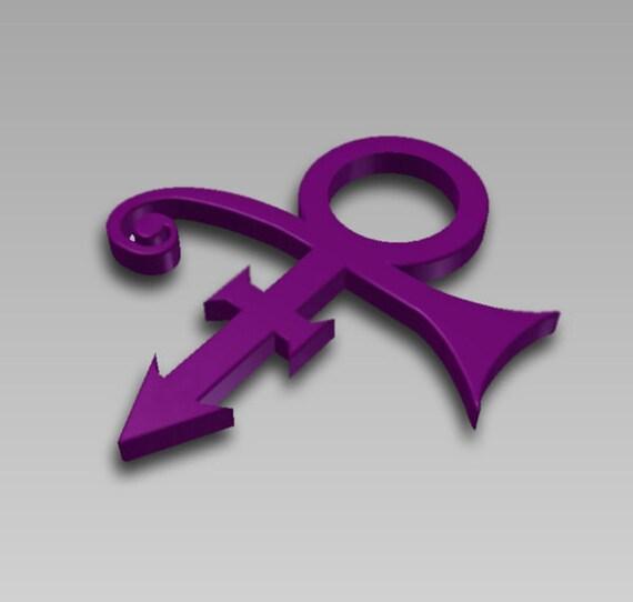 Prince Love Symbol Memorial Rip Decal 3d Emblem