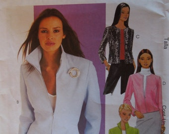 McCalls 3106, size 6-10, misses, womens, teens, lined jacket, UNCUT sewing pattern, craft supplies