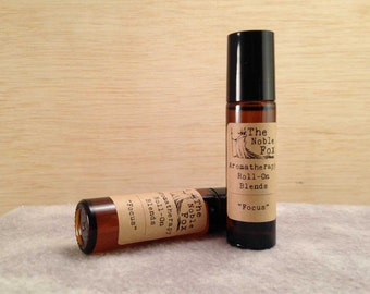 Focus Aromatherapy Roll On Blend