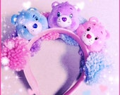 Care Bear plush Pom Pom headband
