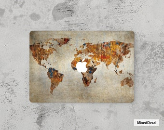 World macbook decal sticker keyboard decal cover macbook world map apple macbook air decal skin top cover front keyboard sticker protector pro retina touch gumiabroncs Image collections